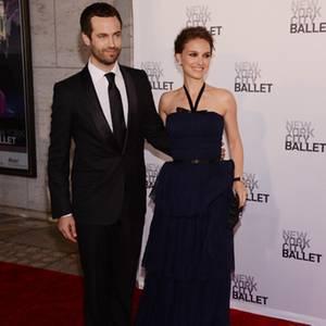 Benjamin Millepied und Natalie Portman