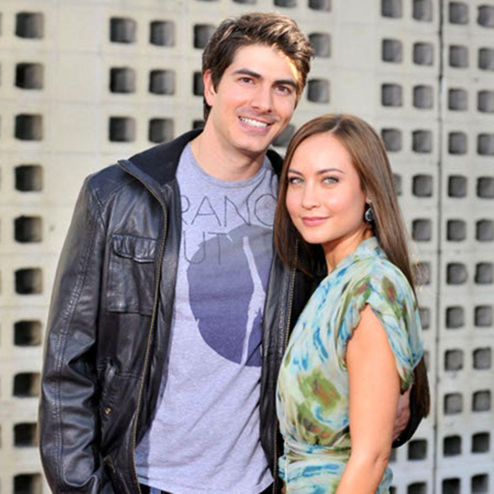 Courtney Ford und Brandon Routh