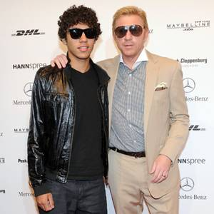 Boris Becker und Sohn Noah