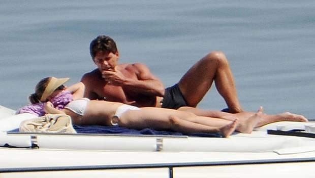 Scarlett Johansson Sonne Yacht Und Bodyguard Galade