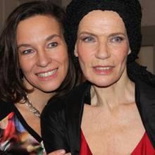 Anja Gockel und Vera Gräfin von Lehndorff