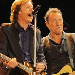 Paul McCartney, Bruce Springsteen