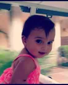 Dieses niedliche Bild ihrer gerade ein Jahr alt gewordenen Tochter Arabella twitterte Ivanka Trump am 22. Juli.