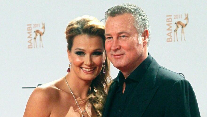 """Wenn Franziska van Almsick von ihrem Verlobten Jürgen B. Harder spricht, sagt sie: """"mein Mann"""".Die beiden lernten sich 2005 auf"""