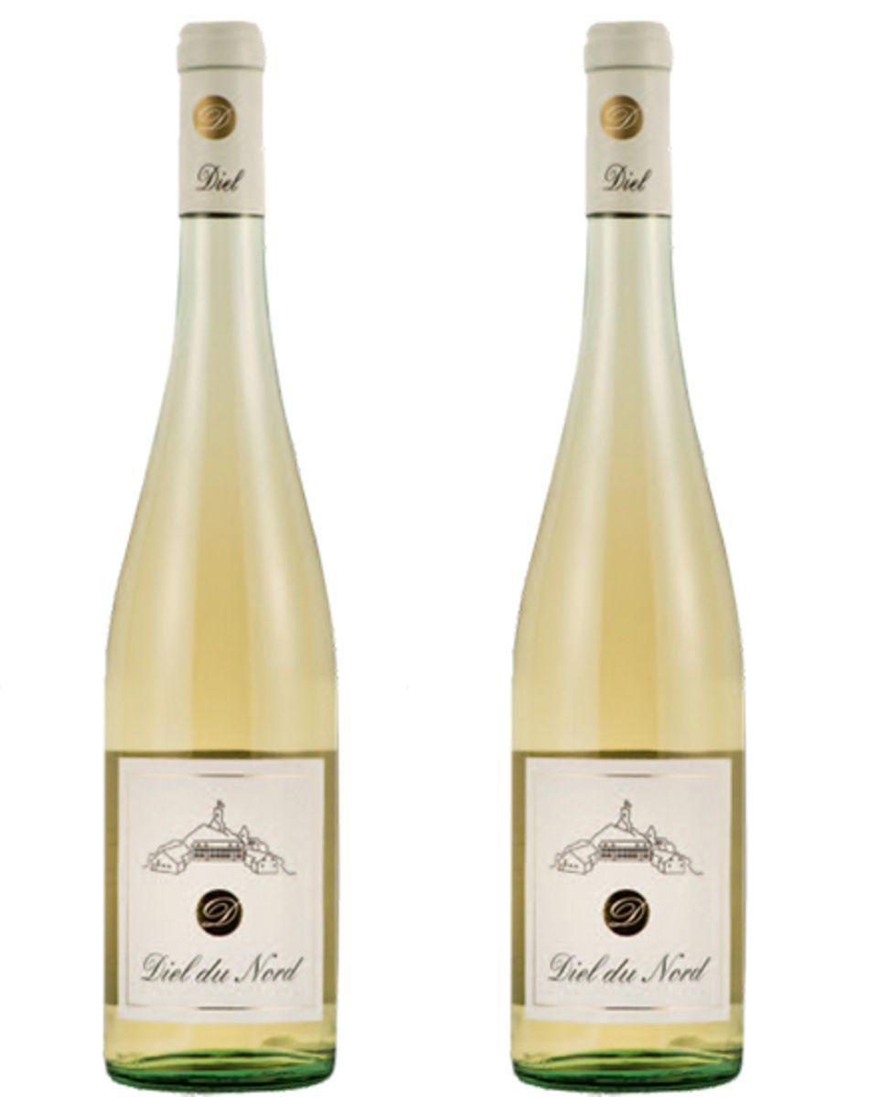 """2011er Schloßgut Diel, """"Diel du Nord"""", 0,75 l, ca. 15 Euro"""
