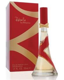 """""""Rebelle by Rihanna"""", Eau de Parfum, 50 ml, ca. 40 Euro: Der Flakon ist einem Stiletto-Absatz nachempfunden, der Duft soll roman"""