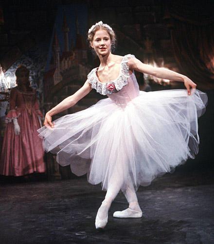 "Silvia Seidel als Ballett-Tänzerin ""Anna"""