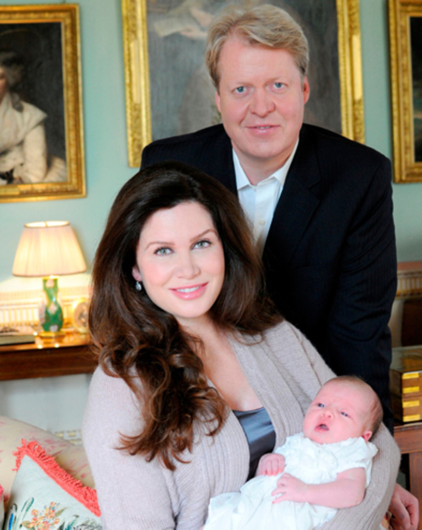 Earl Spencer, Lady Spencer und Charlotte Diana Spencer