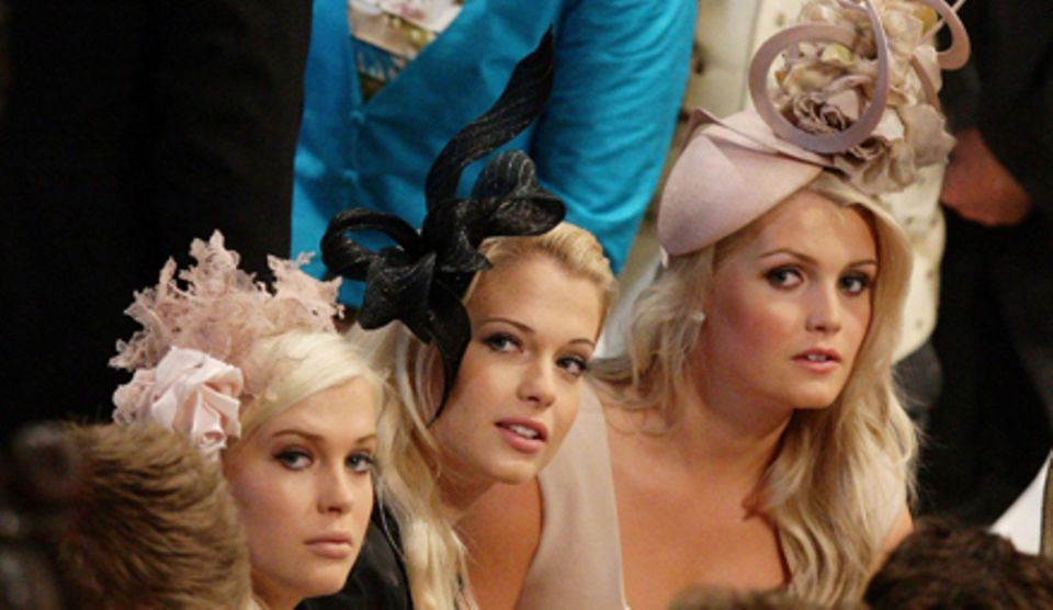 Sie waren ein Hingucker bei der Hochzeit des Herzogpaars von Cambridge im Jahr 2011: die älteren Spencer-Töchter Amelia und Eliz