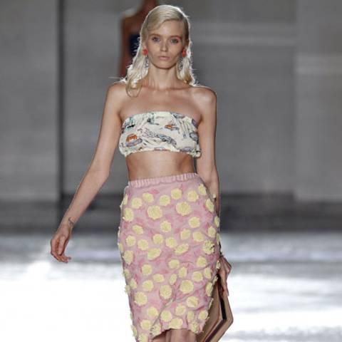 Model bei 'Prada'