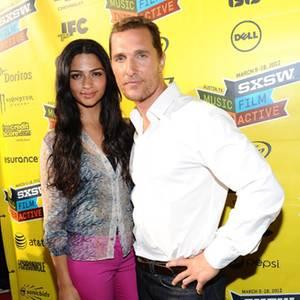 Camila Alves und Matthew McConaughey