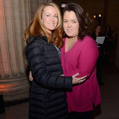 Rosie O'Donnell und Michelle Rounds