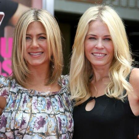 Jennifer Aniston und Chelsea Handler