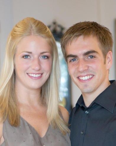Philipp und Claudia Lahm