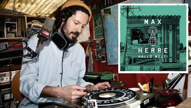 """Das neue Album: Unabhängig wie die Piratenradio-Station auf dem Cover von """"Hallo Welt!"""" senden  Max Herre und seine Gäste Hits i"""