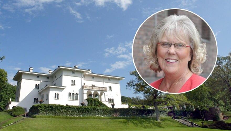 Im Garten von Schloss Solliden auf Öland möchte Victoria ihr eigenes Sommerhaus bauen: Vor allem mit diesem Ort verbindet sie ih