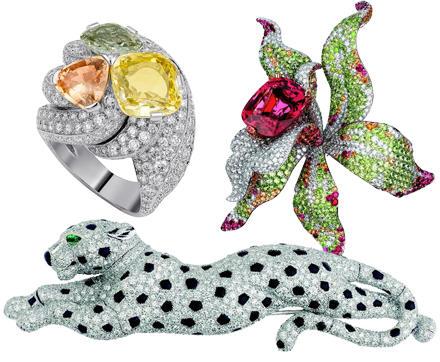 Ob Diamant-Panther oder Orchideen Brosche, Platin Ring mit Saphire und Diamanten - in den Ateliers wird jedes Schmuckstück von H