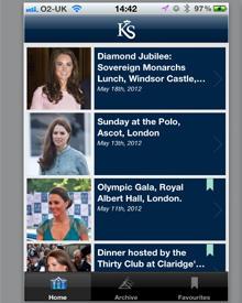 KS - Kate's Style List: Mit dieser App möchten Fans des royalen Kleidungsstils ihrem Idol, Herzogin Catherine, näher kommen.
