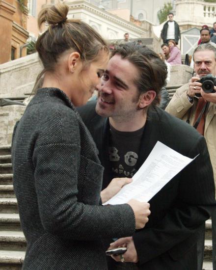 Bis 2005 arbeitete Claudine Farrell als persönliche Assistentin für ihren berühmten Bruder (hier bei einem Unicef-Dreh in Rom).