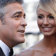 George Clooney + Stacy Keibler