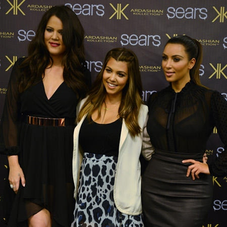 Khloé, Kourtney und Kim Kardashian