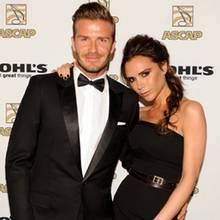 Victoria Beckham und David