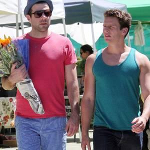 Zachary Quinto + Jonathan Gruff