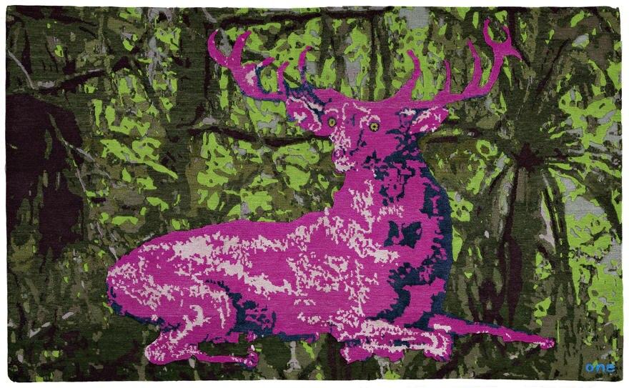 """Mal abstrakt, mal konkret: """"Gamba and Spice"""" (""""Where Is Bambi""""). Jan Kath selbst beschreibt seine Kreationen als """"zeitlos"""", weil"""