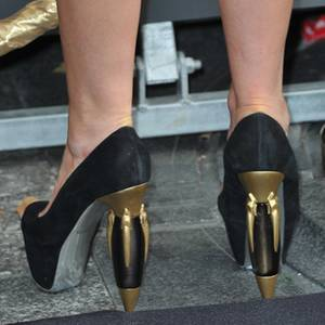 sports shoes b6b1c cd1eb Lady Gagas Flakon-Schuhe: Schuhe im Flakon-Look | GALA.de