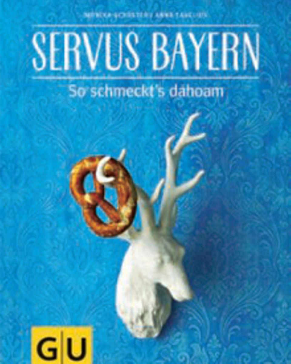 """Getreu dem Motto """"So schmeckt's dahoam"""" servieren  Monika Schuster und Anna Cavelius deftige und süße Spezialitäten vom Alpenrand"""