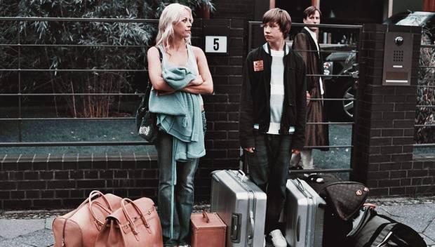 """Stark: Als alleinerziehende Mutter überzeugte Jenny 2006 neben David Kross in dem Jugend-Drama """"Knallhart""""."""