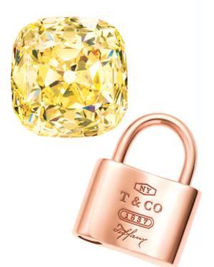 """1978 kaufte Charles Tiffany den größten gelben Diamant der Welt, """"The Tiffany Diamond"""". 2012 erfindet das Unternehmen ein Metall"""