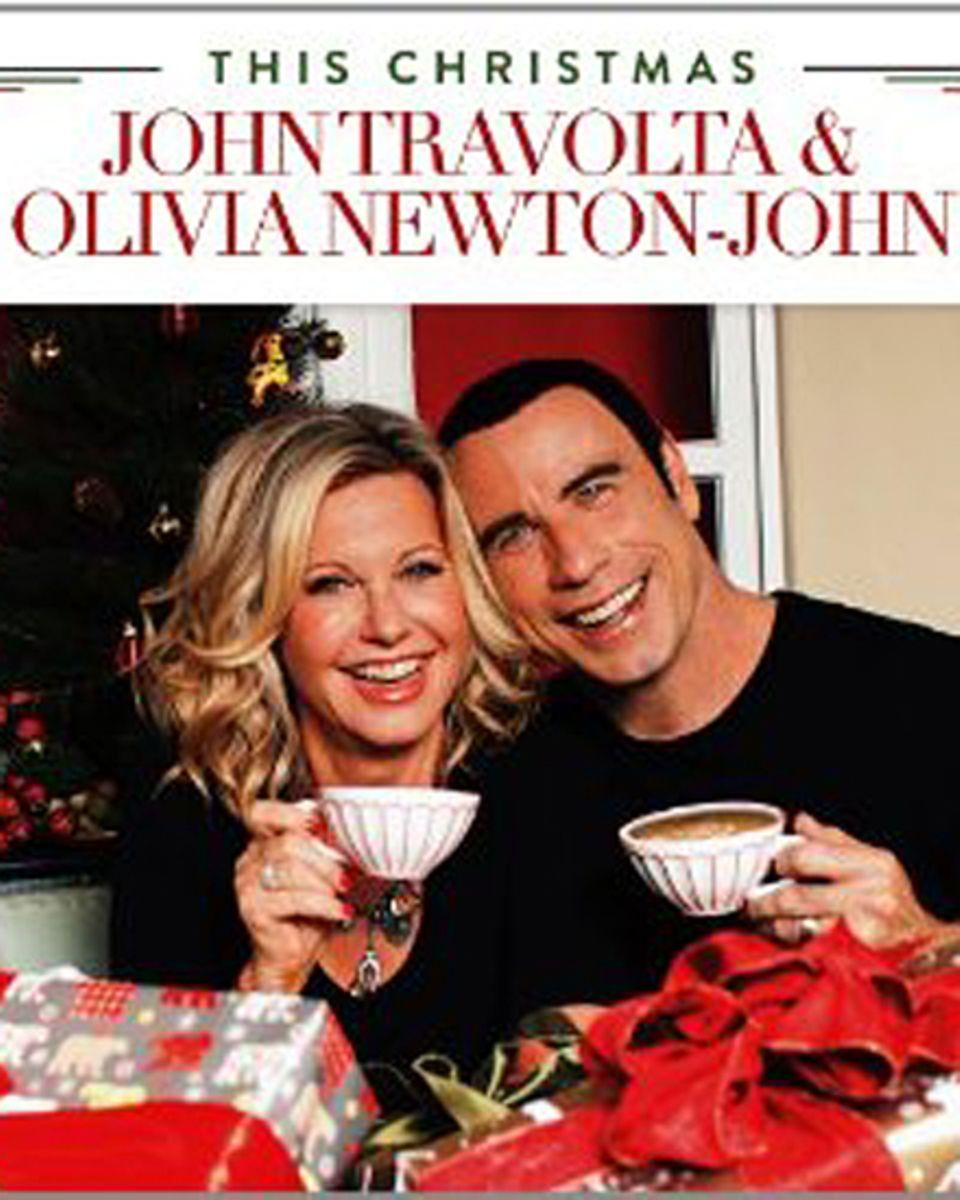 So sieht das Album von Olivia Newton-John und John Travolta aus.