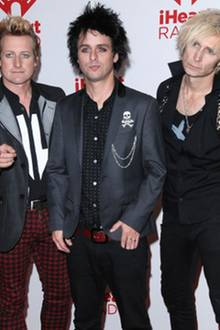 Green Day (Tre Cool, Billie Joe Armstrong und Mike Dirnt)