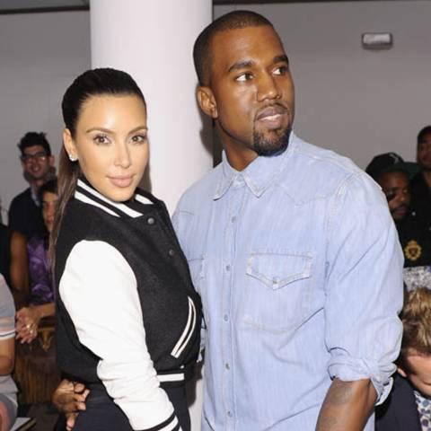 Kim Kardshian, Kanye West