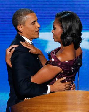 """Ohne Michelle läuft für Barack Obama nichts. """"Er würde jederzeit hinschmeißen, wenn ich ihn darum bäte"""", sagt sie. """"Aber es geht"""