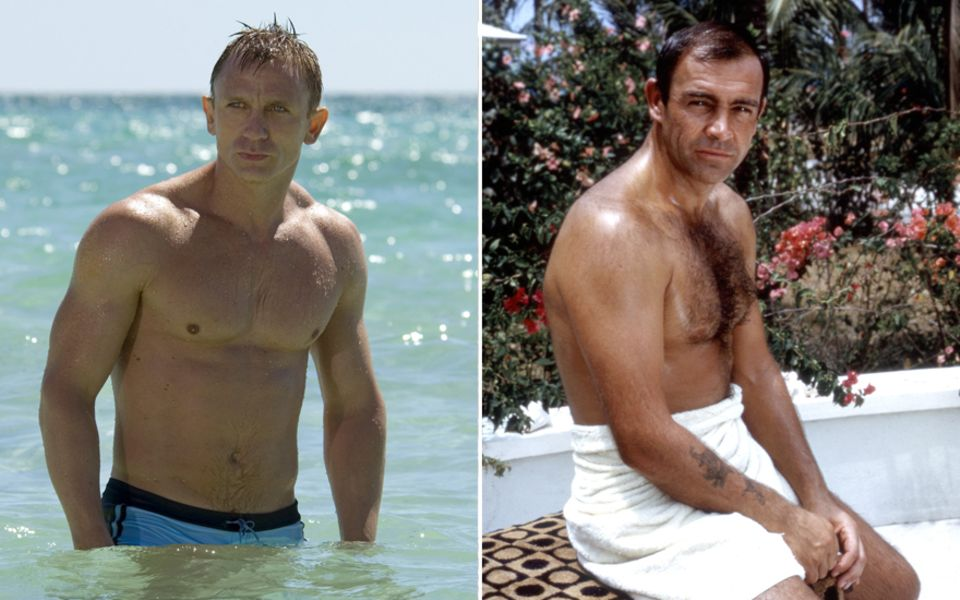 Daniel Craig vs. Sean Connery