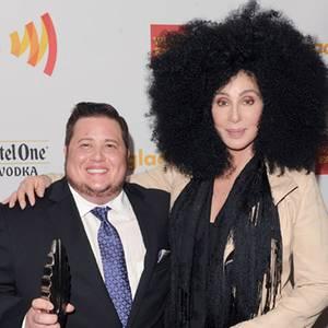 Chaz Bono und Cher