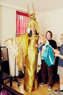 Heidi Klum als Kleopatra