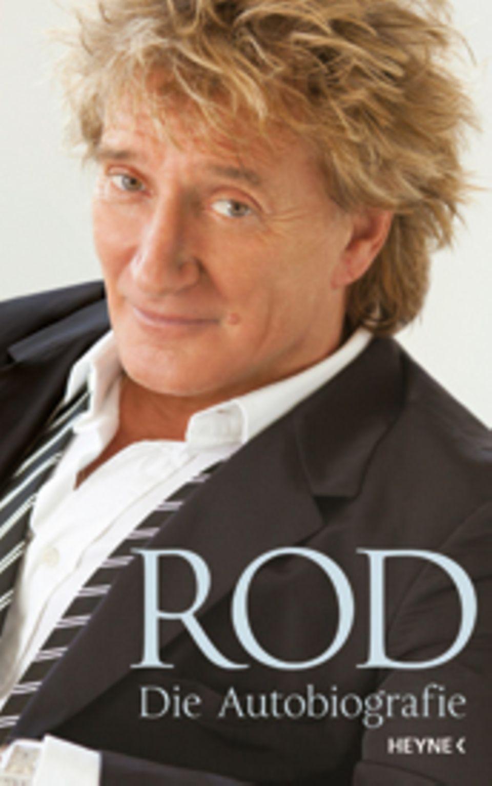 """In seiner Autobiografie """"Rod"""" plaudert der britische Superstar amüsant und voller Selbstironie aus seinem bewegten Leben (Heyne,"""