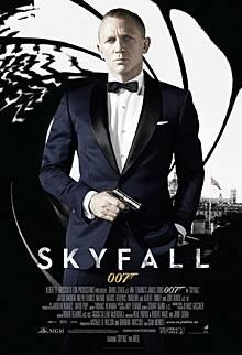 """Das Filmplakat zu """"Skyfall"""""""