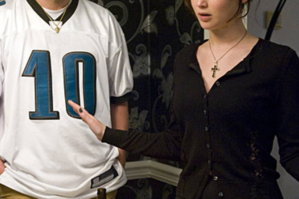 Bradley Cooper, Jennifer Lawrence - Silver Linigs Playbook