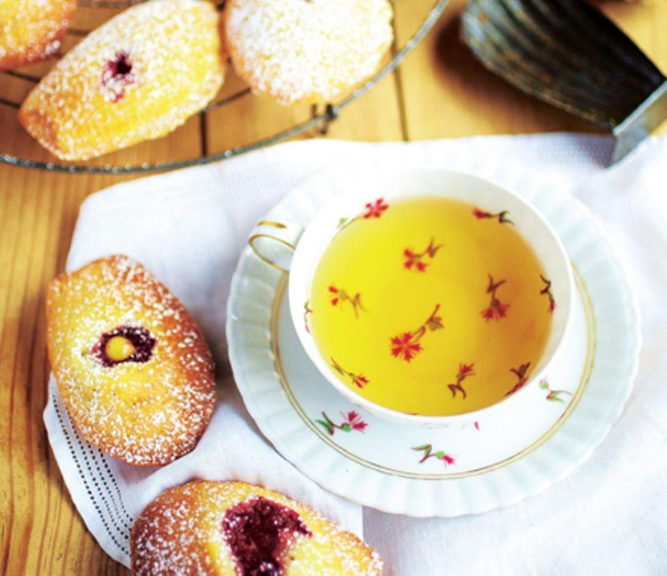 Madeleines mit Lemon-Curd