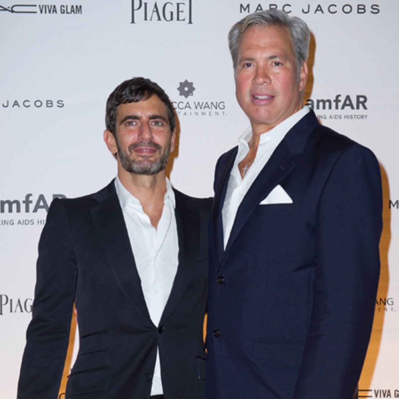 Marc Jacobs und Robert Duffy
