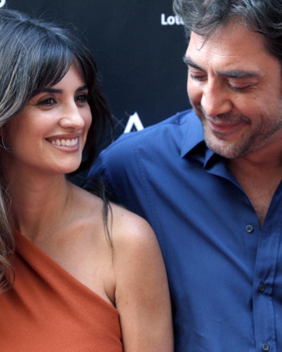 """""""Ich spreche nicht gern über Privates"""", sagt Javier Bardem. Aber so viel ist bekannt: 2010 heiratete er seine """"Freundin und Gefä"""
