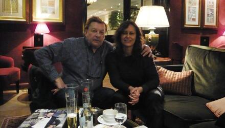 """""""Gala""""-Redakteurin Martina Ochs erlebte einen unerwartet braven Helmut Berger, dessen typischer Tag in Salzburg heute so aussieh"""