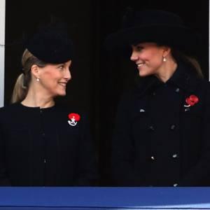 Herzogin Catherine und die Countess of Wessex