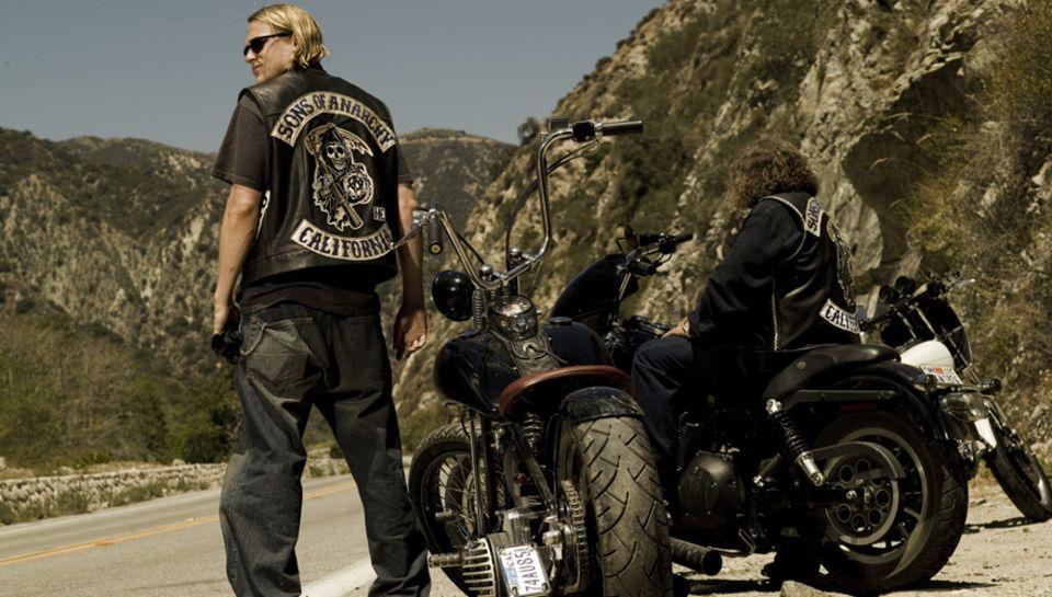 """Die Serie:  Klar, die Hell's Angels sind irgendwie das Vorbild für die Helden von """"Sons Of Anarchy"""". Aber diese kalifornischen R"""
