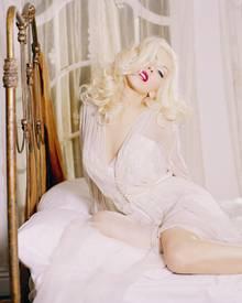 Liebt die aufreizende Pose: Popstar Christina Aguilera