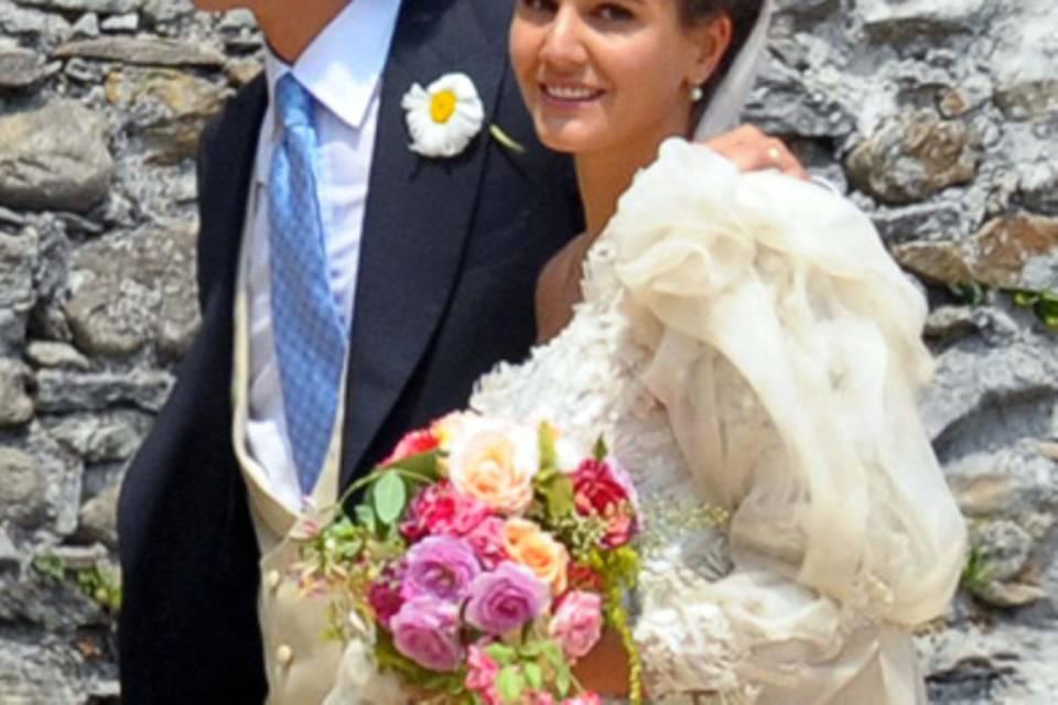 Margherita Missoni und Eugenio Amos